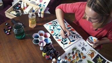 Motivos para repetir . Un curso de Diseño, Ilustración y Craft de Mónica Muñoz Hernández
