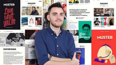 Diseño de una publicación interactiva con InDesign y Bütton. A Design course by Sergio  Ortiz Ruiz