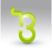 Logo '3. Un proyecto de Diseño e Ilustración de José Antonio  García Montes - Miércoles, 15 de julio de 2009 13:24:42 +0200