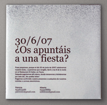 Invitación boda. A Design project by mr hambre - Jul 21 2009 05:40 PM