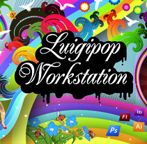 LUIGIPOP portfolio. A Design, Illustration, and Advertising project by Luis Pascual - Jul 23 2009 09:26 AM