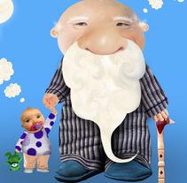 Abuelo y su nieto. Un proyecto de Diseño e Ilustración de Gabriela Moo - Martes, 28 de julio de 2009 19:33:47 +0200