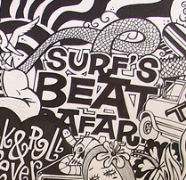 Surf 'up. A Illustration project by Rebombo estudio  - 02-09-2009