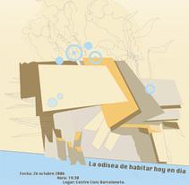 La odisea de habitar hoy. A Design&Illustration project by Priscila Clementti - 22-09-2009