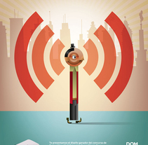 Modem Mi Fi. A Design, Illustration, and Advertising project by Mᴧuco  Sosᴧ - 23-10-2009