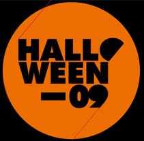 Flyer Halloween. A Design project by Ángel García - Oct 28 2009 08:33 AM