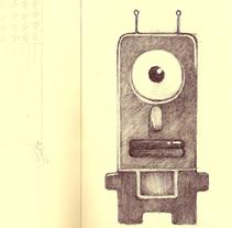 Una libreta de dibujo y relax. A Illustration project by Óscar Lloréns - Nov 03 2009 11:43 AM