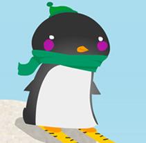 Decathlon - Operación nieve y montaña. A Illustration project by Miguel Martínez-Vilanova - Nov 11 2009 03:27 PM