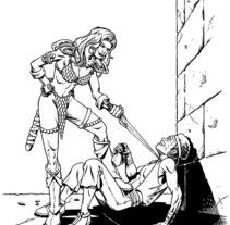 Red Sonja. Un proyecto de Ilustración de Tomás Morón Aranda - Jueves, 12 de noviembre de 2009 17:13:42 +0100