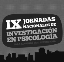 Jornadas de Investigación en Psicología para estudiantes de Secundaria. A Design, Illustration, and Advertising project by Chus Margallo - Nov 28 2009 08:14 PM