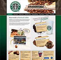 Propuesta Web Starbuck. A Design&Illustration project by José Antonio  García Montes - Dec 20 2009 01:03 PM