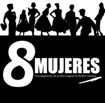 8 Mujeres. A Advertising project by Betiteb - 13-01-2010