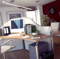 Office. A 3D project by Diego Moreno - 21-01-2010
