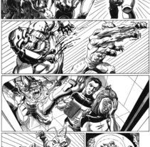 Caged página 4. Un proyecto de Ilustración de Tomás Morón Aranda - Sábado, 23 de enero de 2010 06:31:41 +0100