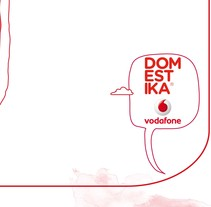 PROPUESTA CONCURSO DOMESTIKA-VODAFONE. A Design, Illustration, and Advertising project by emepele - 01.28.2010