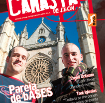 Revista Baloncesto León. A Design, Advertising, and Photograph project by santosdelacalle@gmail.com         - 08.02.2010