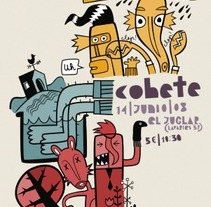 Cohete. A Illustration project by Diego Cano - 01-03-2010