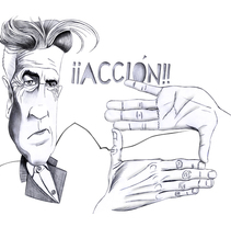 ¡Acción!. A Illustration project by Eduardo Barcia - 02-03-2010