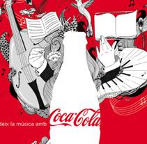 Coca Cola para L´Auditori . Un proyecto de Diseño, Ilustración y Publicidad de amaia arrazola - Miércoles, 10 de marzo de 2010 11:04:08 +0100