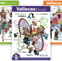 Vallecas: Fiesta, Deporte, Cultura. A Design, Illustration, and Photograph project by Luigi Pop         - 26.03.2010