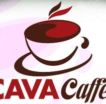 cava caffe logo. A Design, and Advertising project by nathalie figueroa savidan         - 14.01.2011