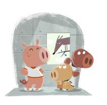 Adivina de qué cuento soy.... Un proyecto de Ilustración de Oriol Vidal - Jueves, 08 de abril de 2010 17:37:36 +0200