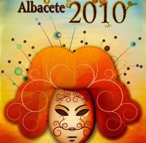 Cartel Carnaval Albacete 2010. Un proyecto de Diseño, Ilustración y Publicidad de Jose Blas Ruiz Hernandez - Viernes, 30 de abril de 2010 19:33:06 +0200