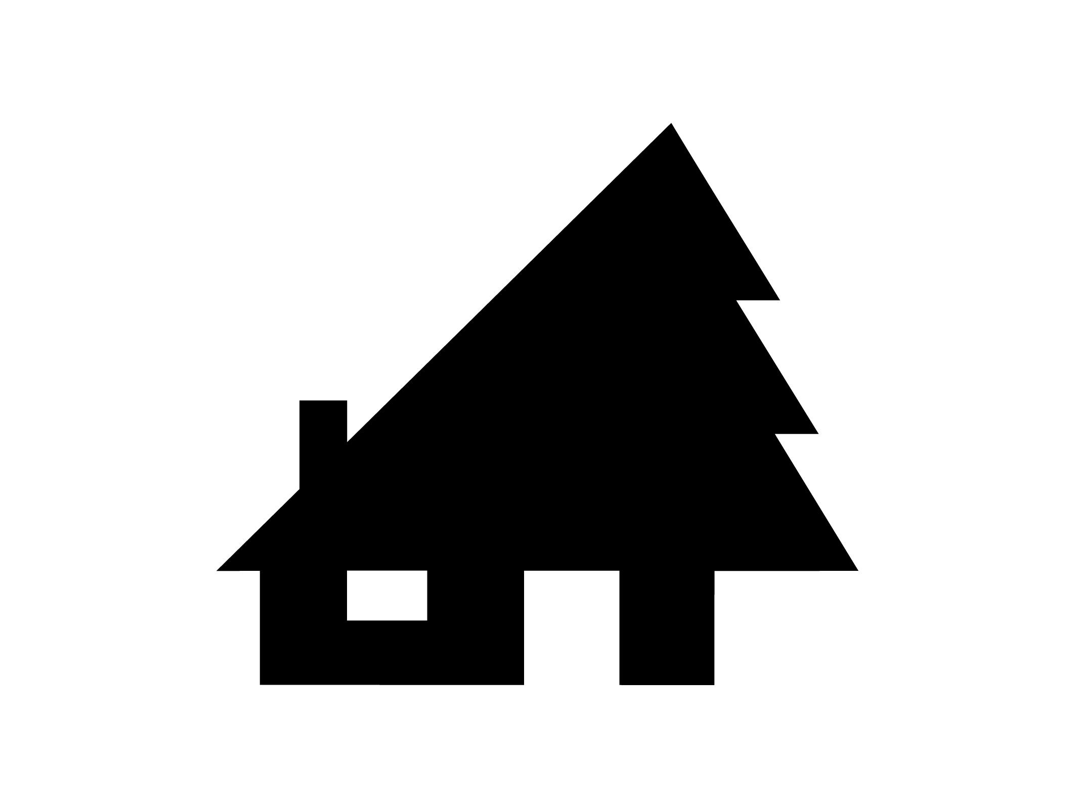 Pictograma para concepto de arquitectura sostenible for Arquitectura minimalista concepto