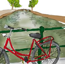 What I get from Amsterdam. A Illustration project by Renata Ortega Cirera         - 06.05.2010