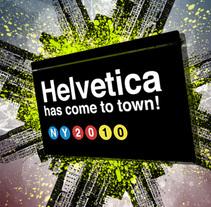 Helvetica has come to town!. Um projeto de Design de Carlos J. de Pedro         - 10.05.2010