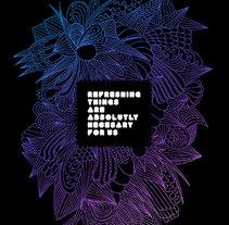 poster postre. Un proyecto de Diseño e Ilustración de Refres-co  - Lunes, 17 de mayo de 2010 21:17:12 +0200