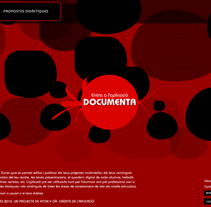 Documenta.cat. A Software Development, and UI / UX project by Guillermo de la Iglesia - 27-05-2010