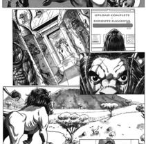 Caged pagina 12. Un proyecto de Ilustración de Tomás Morón Aranda - 03-06-2010