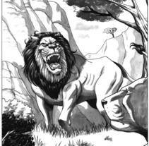 Caged Pagina 13. Un proyecto de Ilustración de Tomás Morón Aranda - 02-07-2010