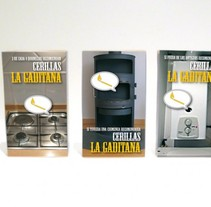 Packs de cerillas. Un proyecto de Diseño de Antonio  Vivancos - 12-07-2010