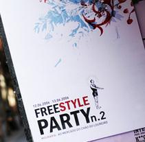 FreeStyle Party . 06&07. Un proyecto de Diseño e Ilustración de ricardo macedo         - 04.08.2010