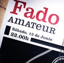 Fado Amateur. Un proyecto de Diseño e Ilustración de ricardo macedo         - 06.08.2010