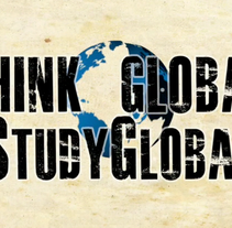 Think Global. A Design, Illustration, Advertising, Music, Audio, Motion Graphics, Film, Video, and TV project by Max Lehder         - 30.08.2010