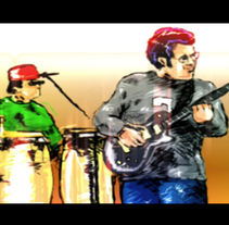 Video Clip Wahala . Um projeto de Design, Ilustração, Música e Áudio, Motion Graphics e Cinema, Vídeo e TV de luis miguel ruibal scholtz - 27-09-2010