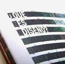 ¿Qué es diseño?. Un proyecto de  de Tres Tipos Gráficos  - 07-09-2010