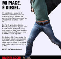 emailing diesel. Un proyecto de Publicidad de Massimiliano Seminara - Martes, 07 de septiembre de 2010 21:20:33 +0200