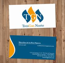 TresGas Norte Branding. A Design project by Diego Moreno - 14-09-2010