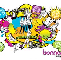 Grooveshark / Bonnaroo. Un proyecto de Diseño e Ilustración de mauro hernández álvarez - Miércoles, 15 de septiembre de 2010 12:47:25 +0200