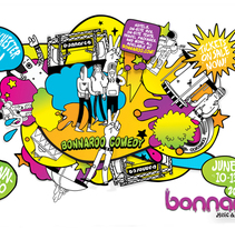 Grooveshark / Bonnaroo. A Design&Illustration project by mauro hernández álvarez - Sep 15 2010 12:47 PM