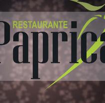 Video promocional para Restaurante Paprica. Un proyecto de Cine, vídeo y televisión de David Valín         - 27.09.2010