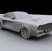 Ford Mustang GT 500 Eleanor. A 3D project by Felipe Cambas Cancelo         - 06.10.2010
