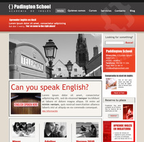 Web - Padington School. A Design project by Jose Antonio Montero Sandoval         - 14.10.2010
