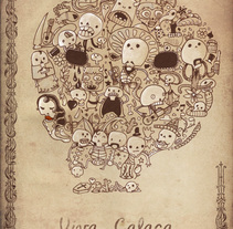 Viva Calaca. A Design&Illustration project by Celsius Pictor  - Oct 22 2010 03:04 PM