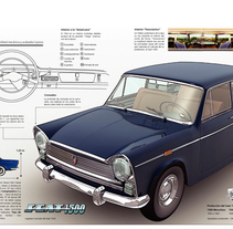 SEAT 1500. A Illustration, and 3D project by Francisco  Castracane         - 26.10.2010