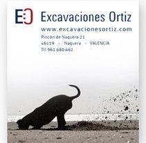 Excavaciones Ortiz, imagen corporativa. Un proyecto de Diseño de Alicia Pedreira         - 01.11.2010